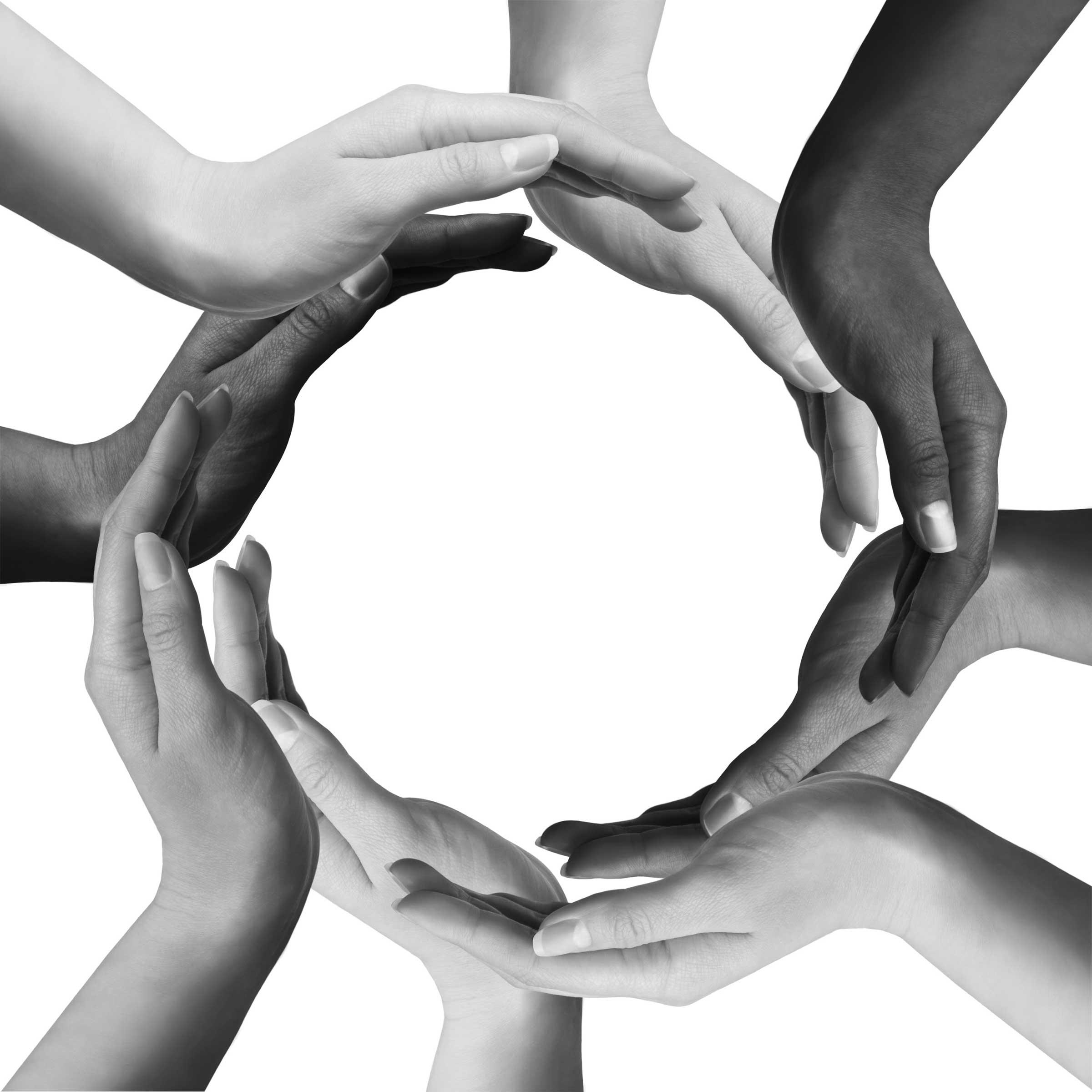 la diversité mains
