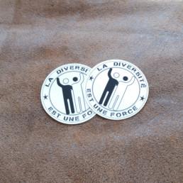 autocollant du logo